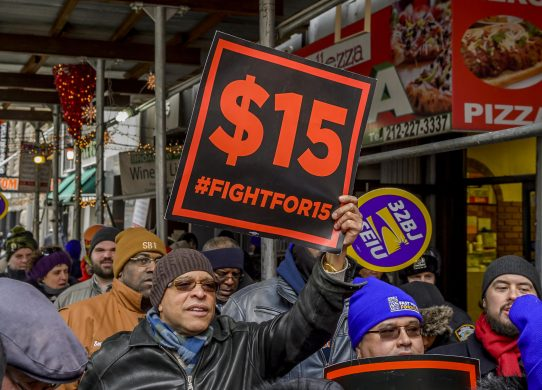 $15 minimum wage would boost pay for 17 million but 1.3 million would lose their jobs, CBO says